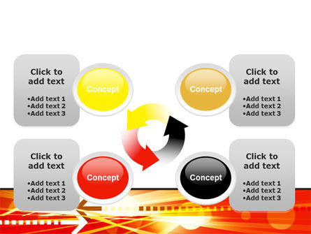 Red Theme Interactive PowerPoint Template Slide 9