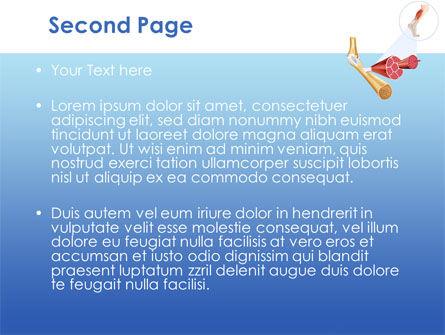 Muscle PowerPoint Template, Slide 2, 08468, Medical — PoweredTemplate.com