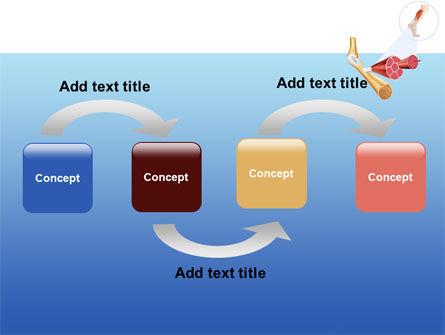 Muscle PowerPoint Template, Slide 4, 08468, Medical — PoweredTemplate.com