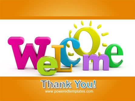 Welcome PowerPoint Template Slide 20