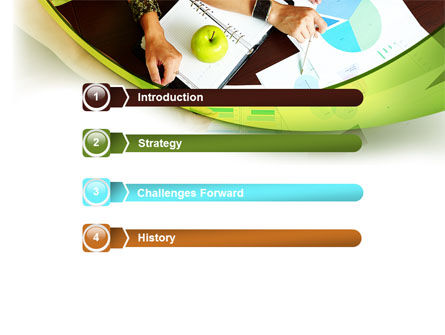 Pie Chart Analysis PowerPoint Template, Slide 3, 08471, Business — PoweredTemplate.com