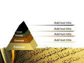 Arabic Book PowerPoint Template#12
