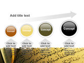 Arabic Book PowerPoint Template#13