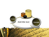 Arabic Book PowerPoint Template#16