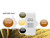 Arabic Book PowerPoint Template#17