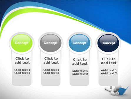Reader PowerPoint Template Slide 5