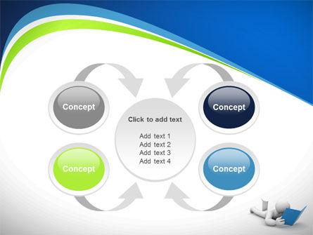 Reader PowerPoint Template Slide 6