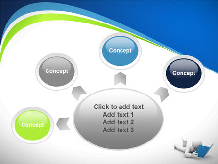 Reader PowerPoint Template Slide 7