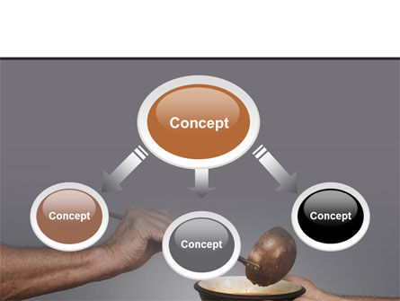 Helping The Poor PowerPoint Template Slide 4