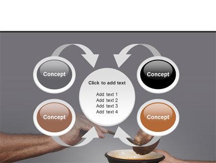 Helping The Poor PowerPoint Template Slide 6