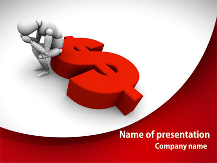 Money Problems PowerPoint Template