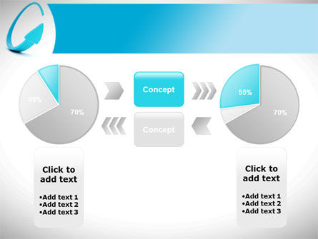 Cycle Arrow PowerPoint Template Slide 11