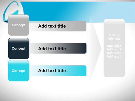 Cycle Arrow PowerPoint Template Slide 12