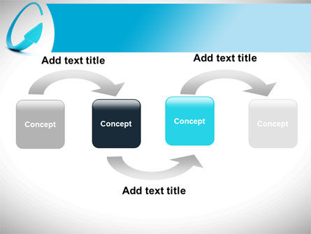 Cycle Arrow PowerPoint Template Slide 4