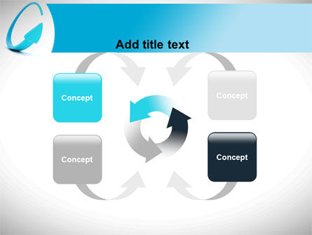 Cycle Arrow PowerPoint Template Slide 6