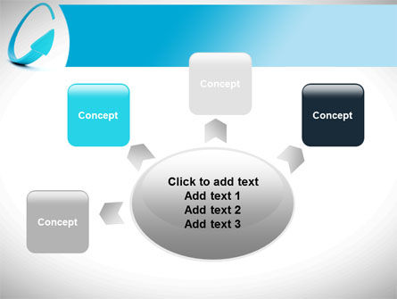Cycle Arrow PowerPoint Template Slide 7
