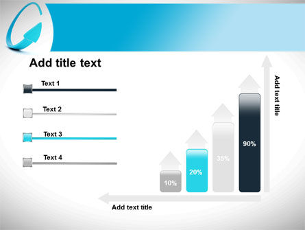 Cycle Arrow PowerPoint Template Slide 8