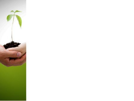 Growing Together PowerPoint Template, Slide 3, 08482, Nature & Environment — PoweredTemplate.com