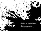 Abstract/Textures: Blot PowerPoint Template #08483