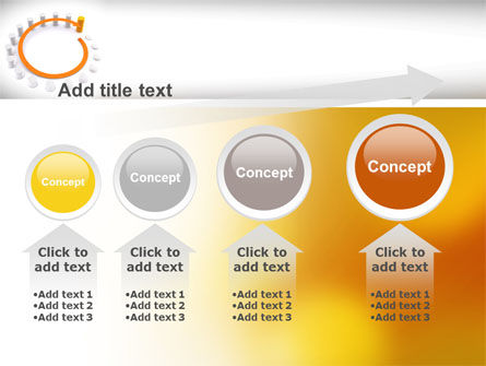 Circle Rise Diagram PowerPoint Template Slide 13
