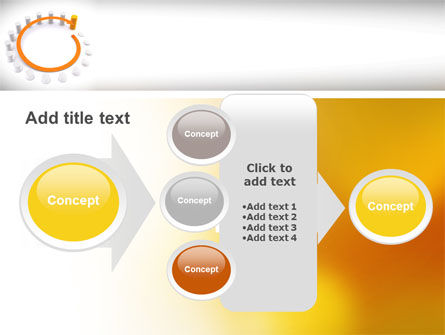 Circle Rise Diagram PowerPoint Template Slide 17