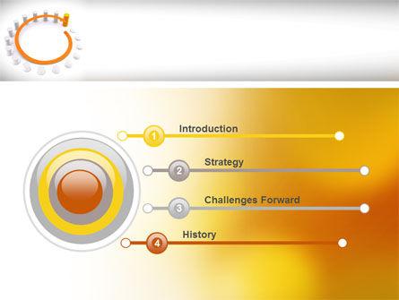 Circle Rise Diagram PowerPoint Template, Slide 3, 08484, Business Concepts — PoweredTemplate.com