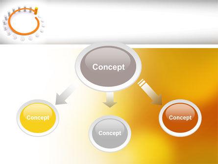 Circle Rise Diagram PowerPoint Template, Slide 4, 08484, Business Concepts — PoweredTemplate.com