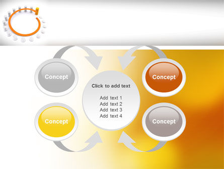 Circle Rise Diagram PowerPoint Template Slide 6