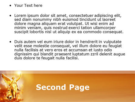 Guardian Angel PowerPoint Template, Slide 2, 08486, Religious/Spiritual — PoweredTemplate.com