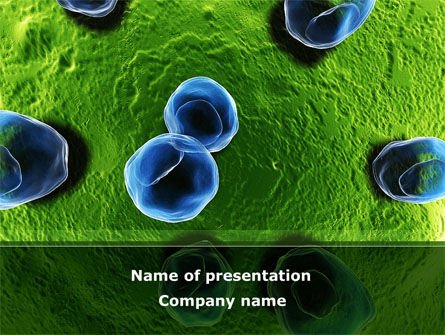 Medical: Cell Damage PowerPoint Template #08488