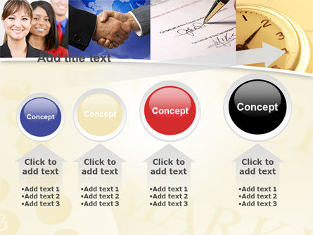 Under Contract PowerPoint Template Slide 13