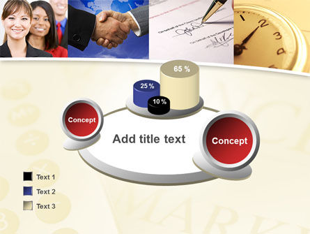 Under Contract PowerPoint Template Slide 16