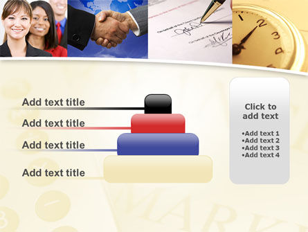 Under Contract PowerPoint Template Slide 8