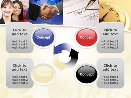 Under Contract PowerPoint Template Slide 9