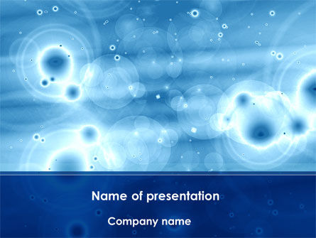 Abstract/Textures: Ripples PowerPoint Template #08491