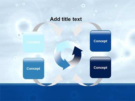 Ripples PowerPoint Template Slide 6