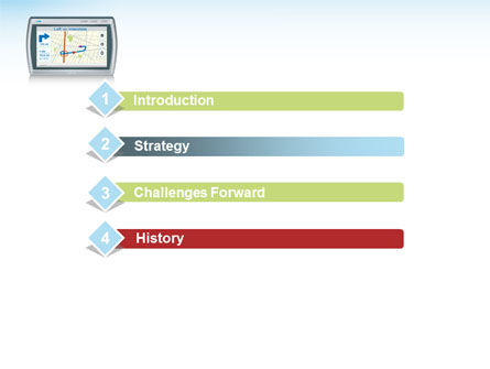 Global Position System PowerPoint Template, Slide 3, 08492, Technology and Science — PoweredTemplate.com