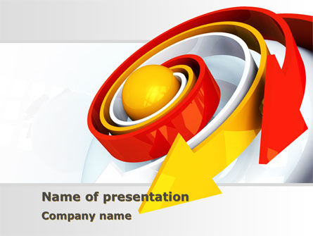 Business Concepts: Plantilla de PowerPoint - movimiento #08495
