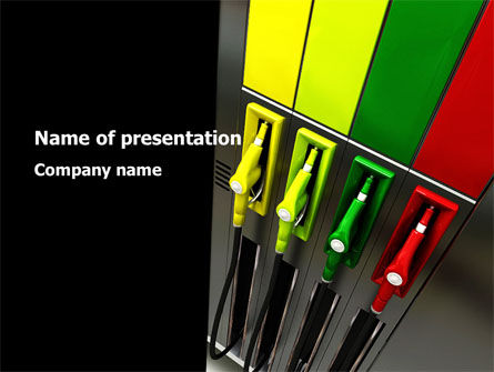 Petrol Station PowerPoint Template