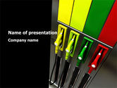 Careers/Industry: Petrol Station PowerPoint Template #08498