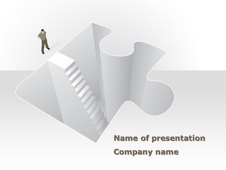 Consulting: Searching Solutions PowerPoint Template #08499