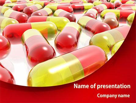 Pilule PowerPoint Template, 08501, Medical — PoweredTemplate.com