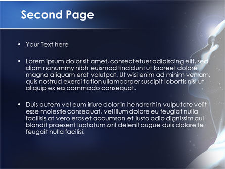 Infinite Universe PowerPoint Template, Slide 2, 08503, Technology and Science — PoweredTemplate.com