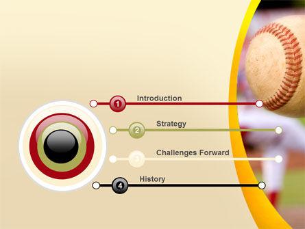 Baseball Pitcher Throw PowerPoint Template Backgrounds – Baseball Powerpoint Template