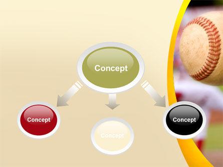 Baseball Pitcher Throw PowerPoint Template, Slide 4, 08506, Sports — PoweredTemplate.com