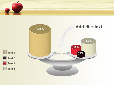 Sweet Apples PowerPoint Template Slide 10