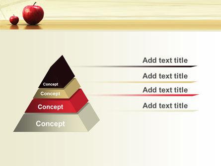 Sweet Apples PowerPoint Template Slide 12