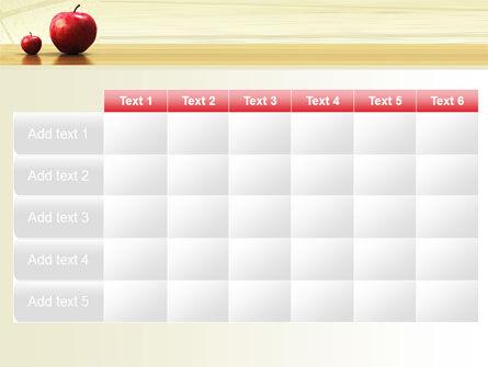 Sweet Apples PowerPoint Template Slide 15