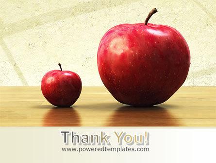 Sweet Apples PowerPoint Template Slide 20