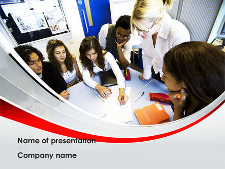 Education & Training: Education Conference PowerPoint Template #08510